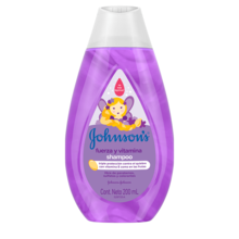 JOHNSON'S® shampoo fuerza y vitamina
